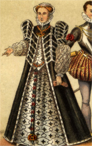 Dräkt, Katarina af Medici, Nordisk familjebok