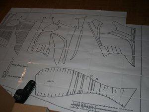 Projet:La robe D'Héra :le corsage