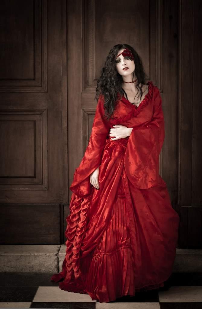 Reproduction de la robe Mina de Francis Ford Coppola: Shooting