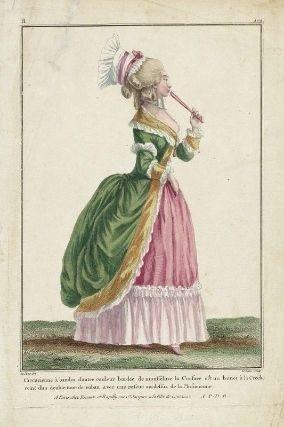 Robe circassienne :1780