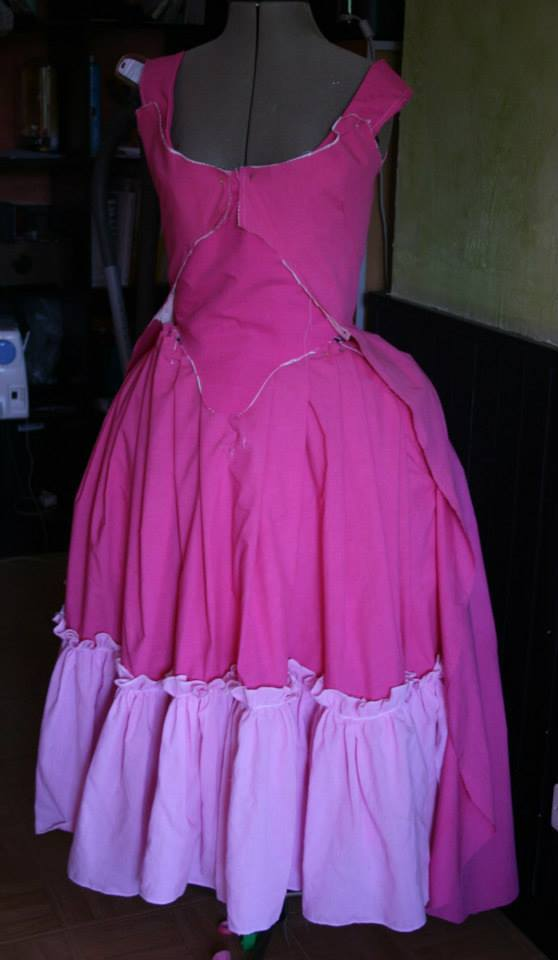 projet: Robe circassienne 1780: le manteau