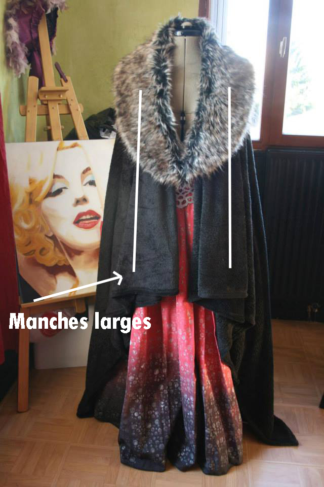 tuto:GOT: Le manteau/cape en  60 minutes chrono !