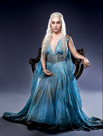 khaleesi game of thrones: Tye and Die