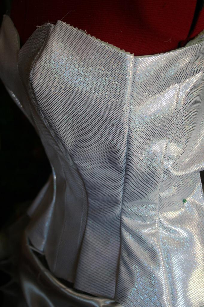 Le projet burlesque: le corset