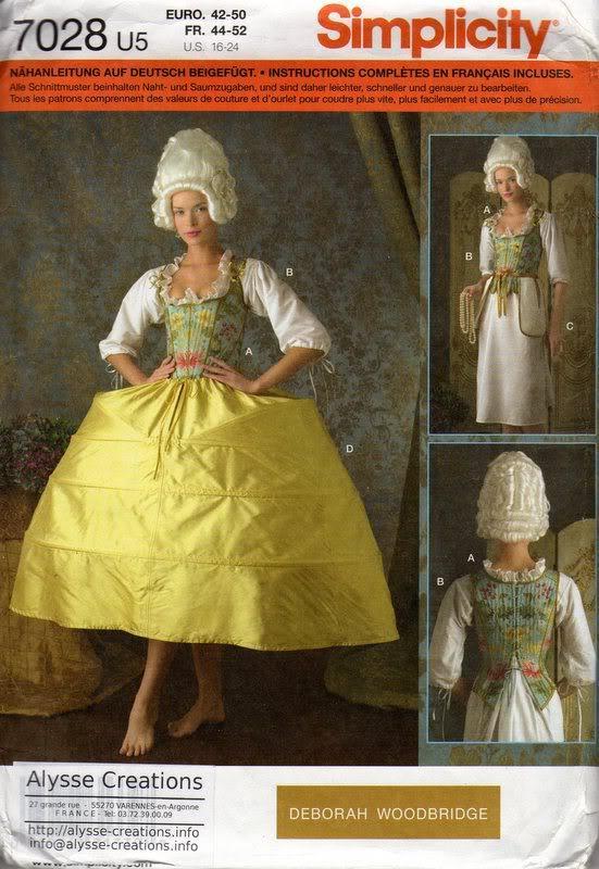 Projet: robe à la française: réalisation du panier XVIIIeme (partie1)