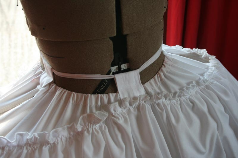 Projet: robe à la française: réalisation du panier XVIIIeme (partie4)