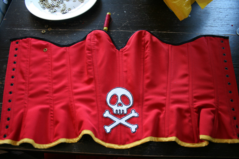 projet Emeraldas (Harlock space pirate) le corset