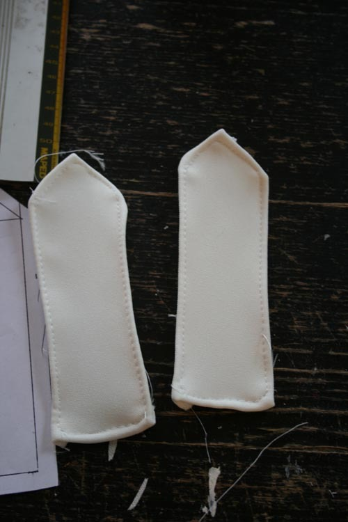 Réaliser des galons d'épaules