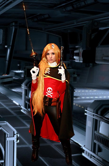 Emeraldas (albator, harlock) cosplay le shooting