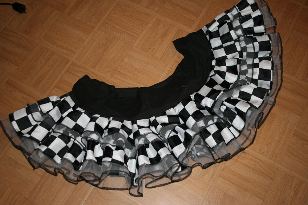 Le projet Harley Quinn: la jupe