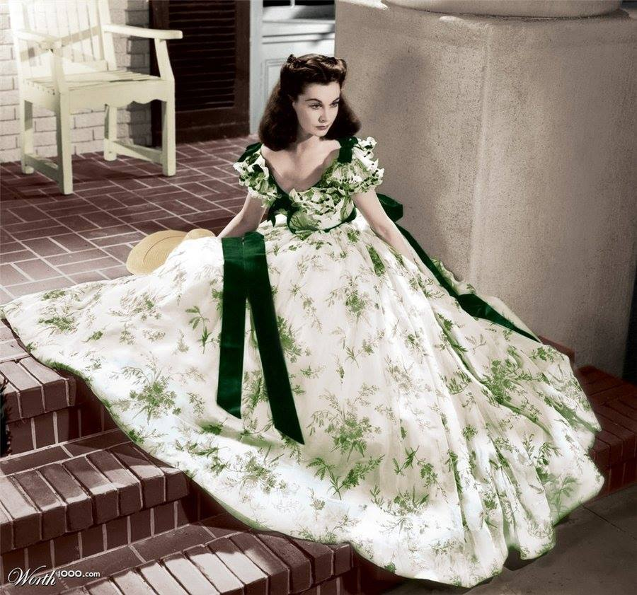 La robe Scarlett O'hara