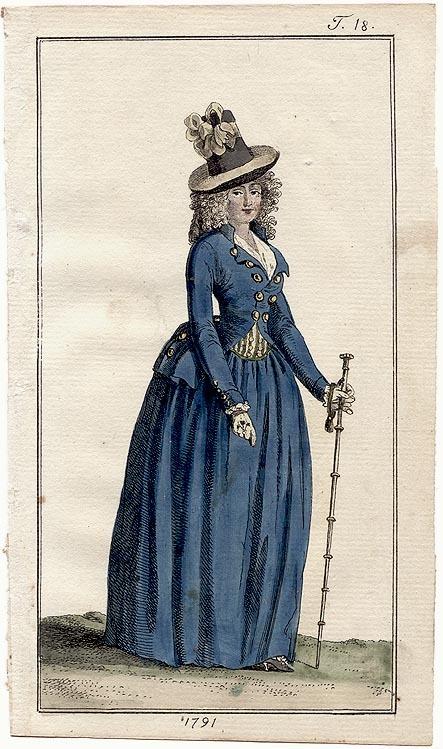 Le projet Riding habit d'après le tableau de Lady Worsley : la petite histoire
