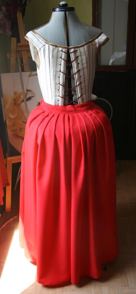 Le projet Lady Worsley: La jupe