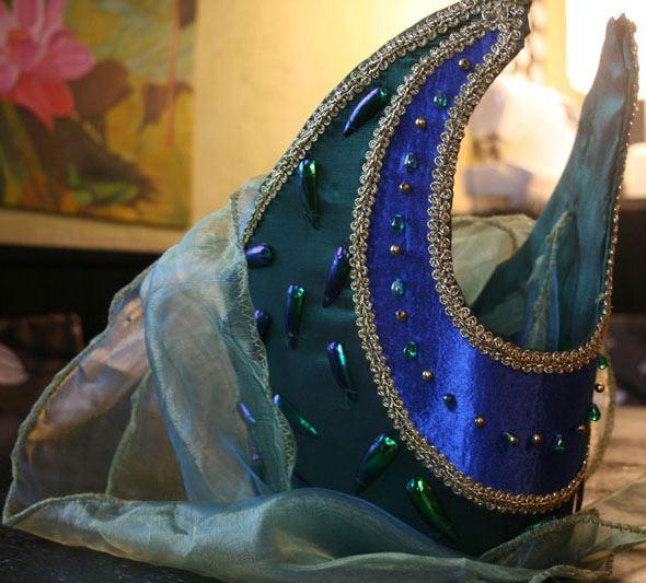 Projet:La robe D'Héra :la coiffe