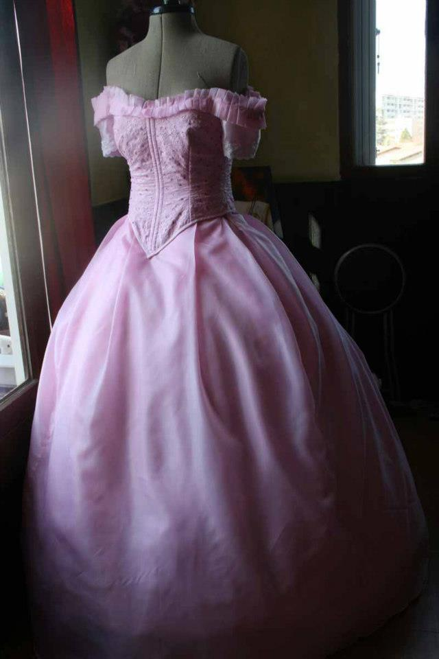 Projet once upon a time : La robe