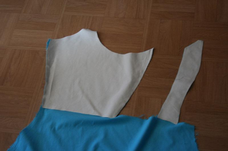 projet: Robe polonaise française 18eme: l'intérieur