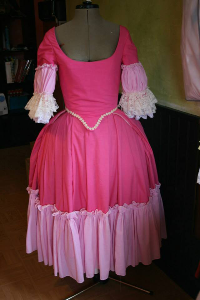 projet: Robe circassienne 1780: le jupon