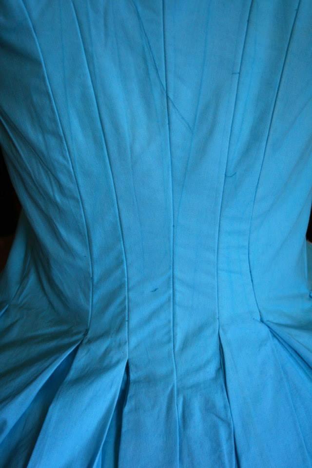 dos de le robe  polonaise  1780