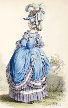 projet: Robe Circasienne 18eme