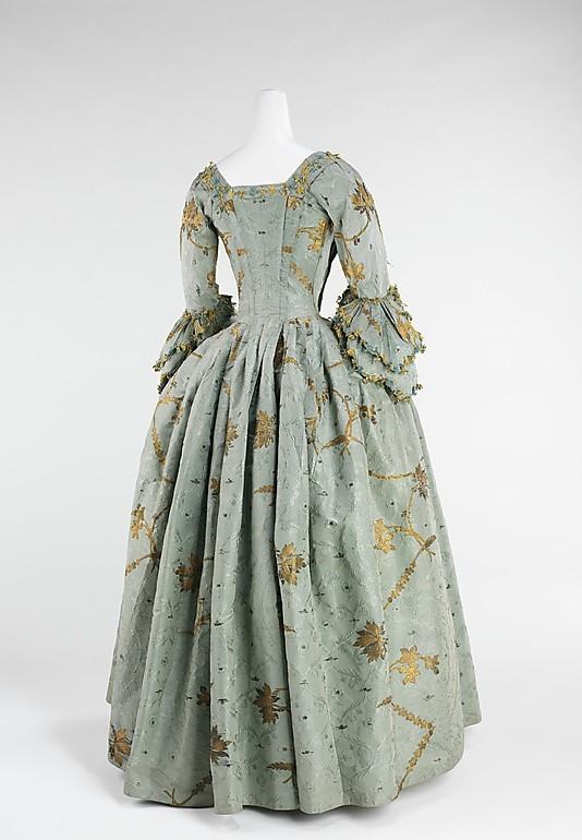Costume national suédois 1780: le manteau