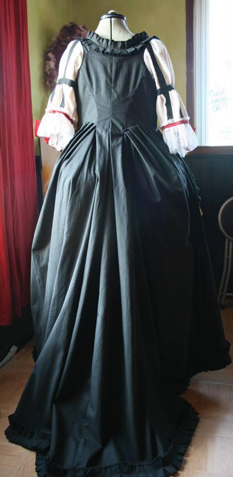 Le costume National Suédois 1780 c'est fini