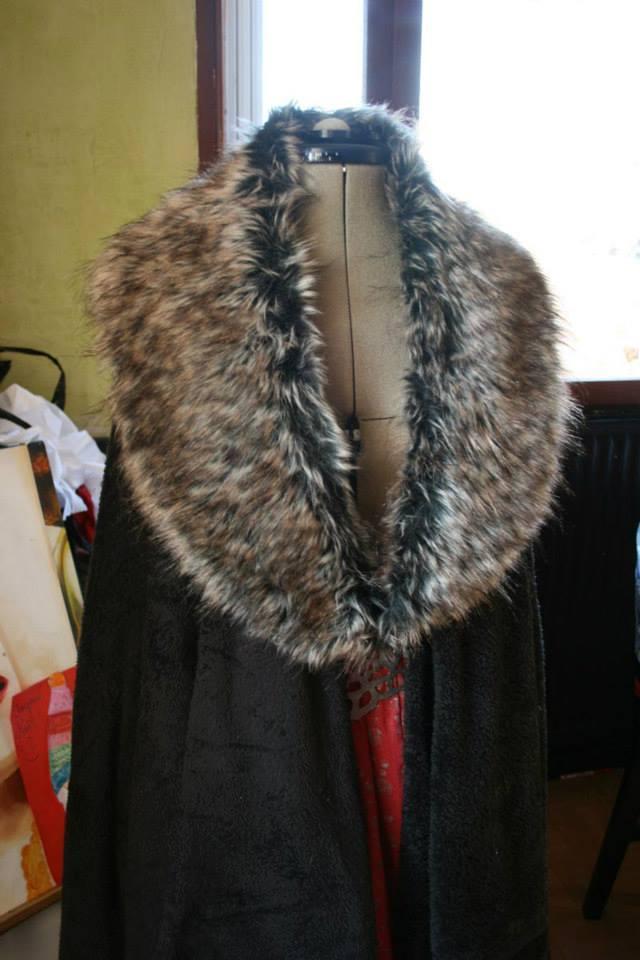 tuto:GOT: Le manteau/cape en  60 minutes chrono !