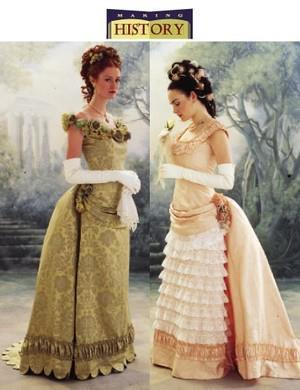 La robe Natural Form  1878/1879: la jupe