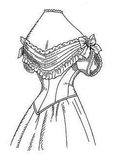 projet robe Natural form  1878 : le corsage