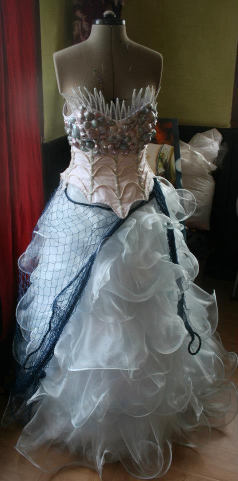 robe médusa non finie ici  !!