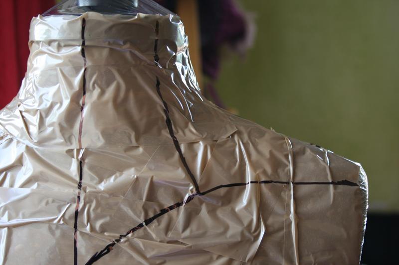 tuto: réaliser le patron d'un corset de cou sans calcul (facile)