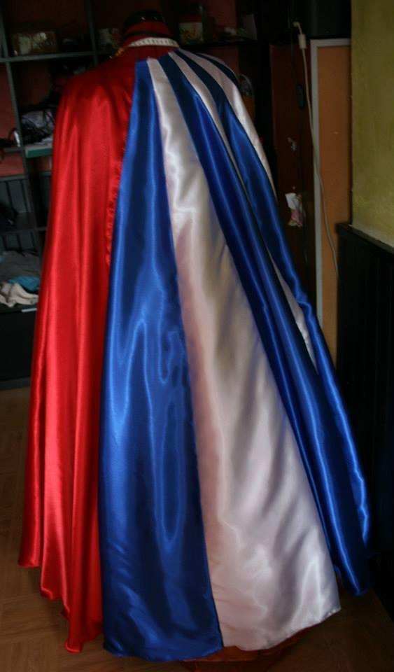 Le costume de Wonder woman