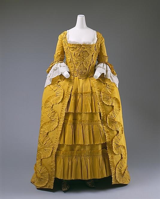 robe 1860/70 Met