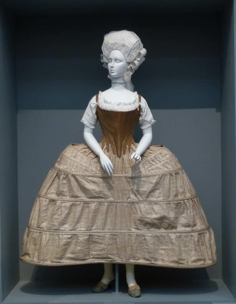 Met panier et robe 1750/1770