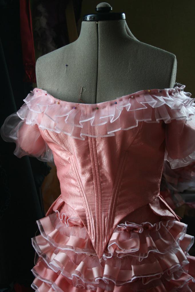 Natural form  1879/1880: corsage partie 2