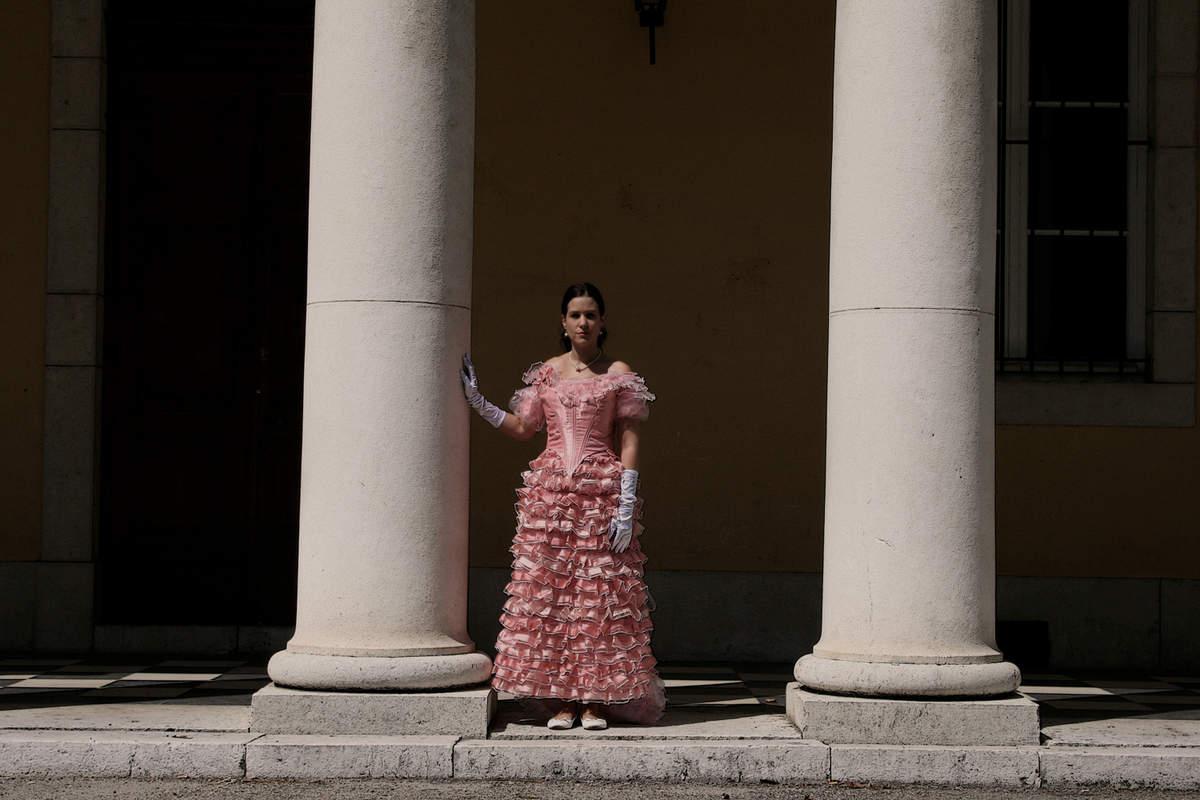 La robe Natural form  1879/1880 le shooting !