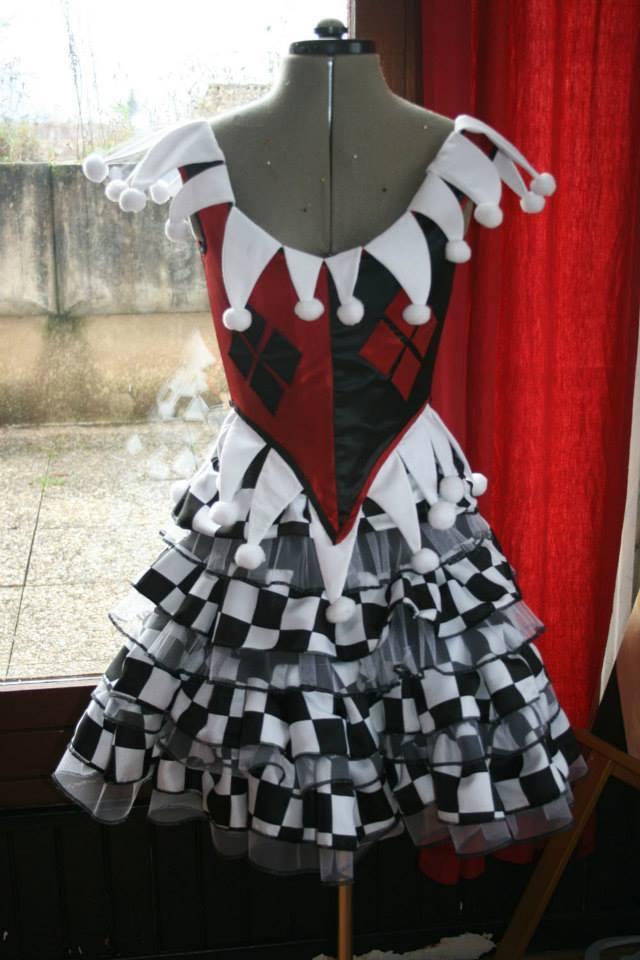 Le costume D'harley Quinn