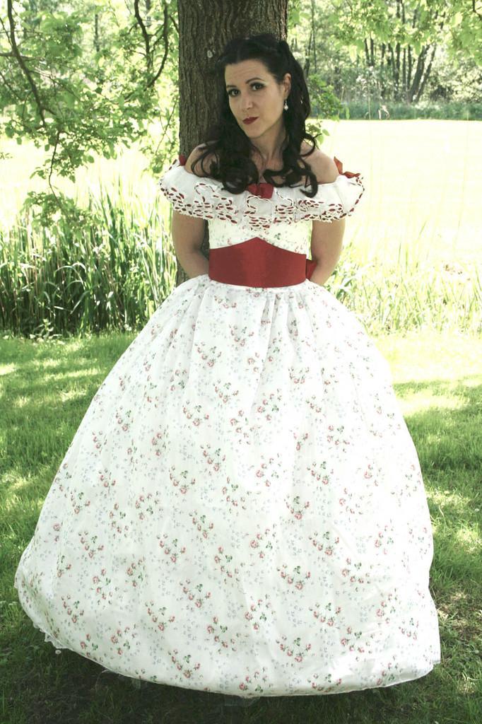 La robe Scarlett O'hara