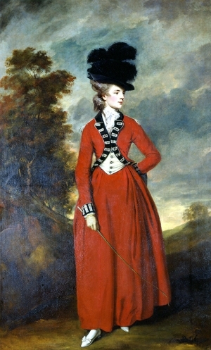 Lady Worsley Reynolds1776