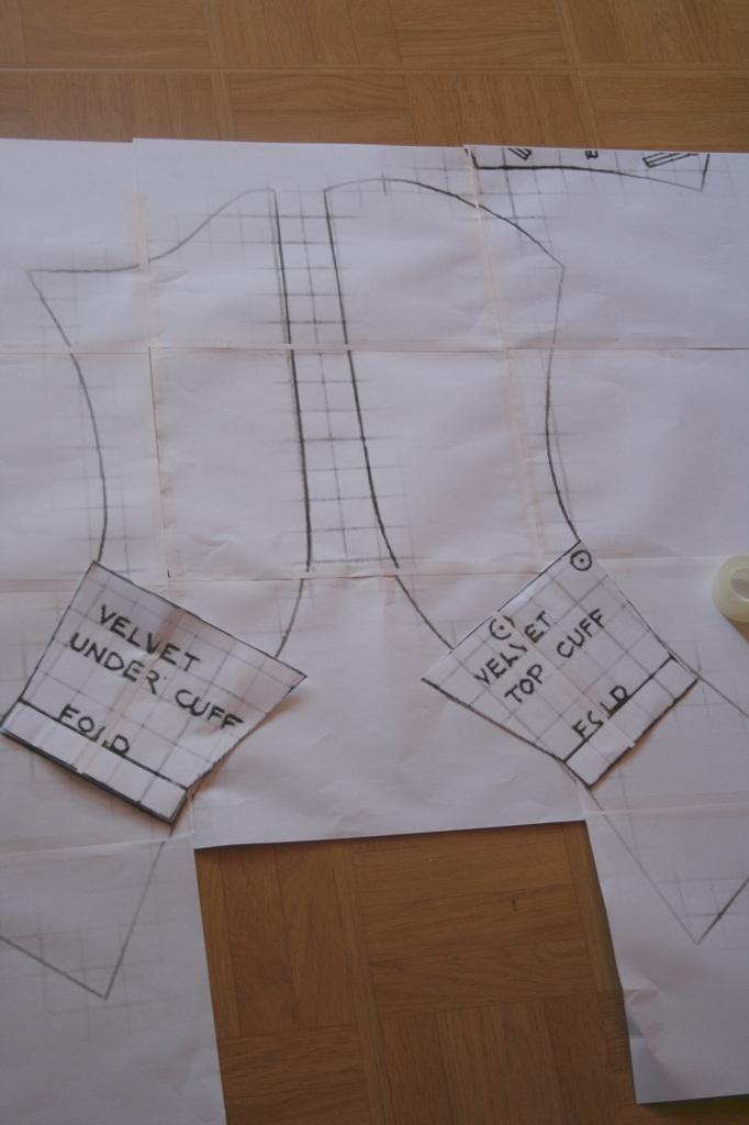 Le projet Riding habit 1780: Le montage de la veste partie 2