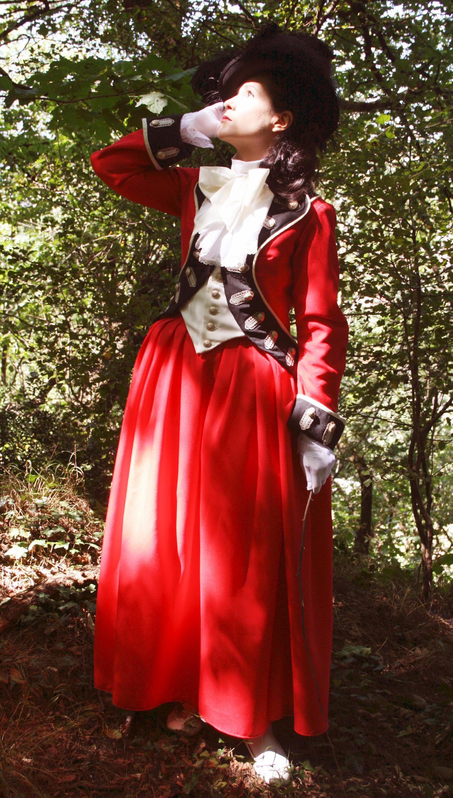 Lady worsley riding habit 1780