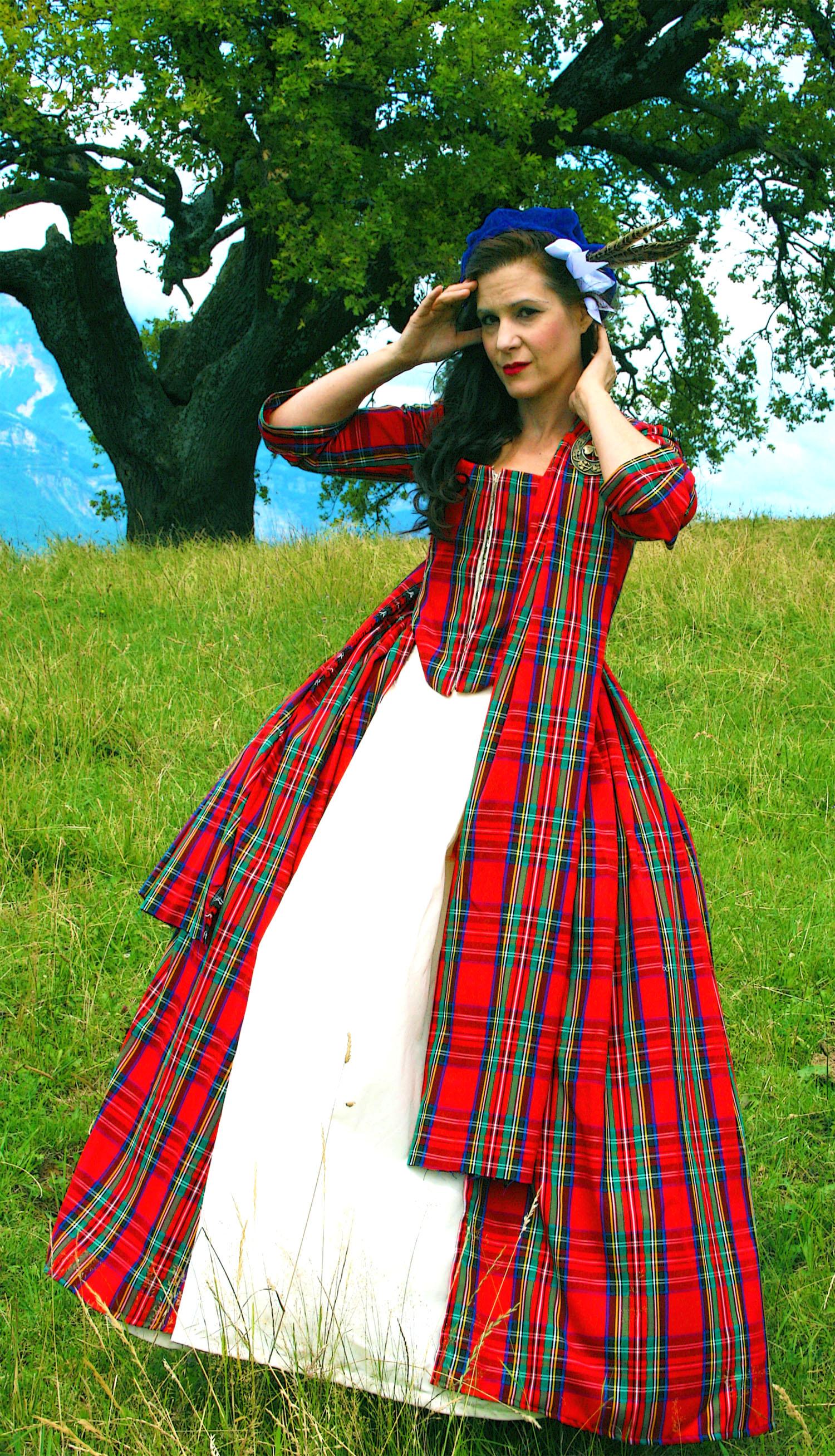 Isabelle Fraser wedding dress 1785
